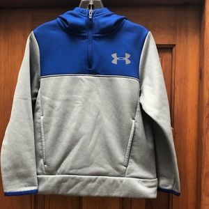 Under Armour cold gear pull over hoodie